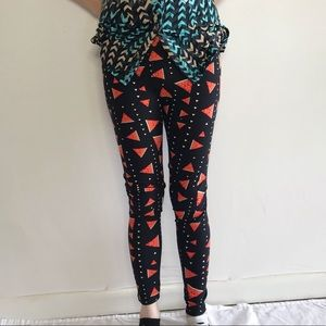 LulaRoe Watermelon Leggings  🍉